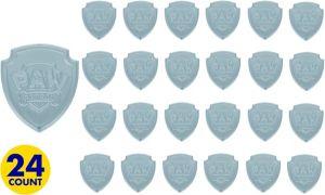 PAW Patrol Badges 24ct