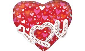 I Heart You Balloon - 3D Heart