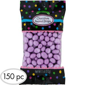 Lavender Peanut Chocolate Drops 150pc