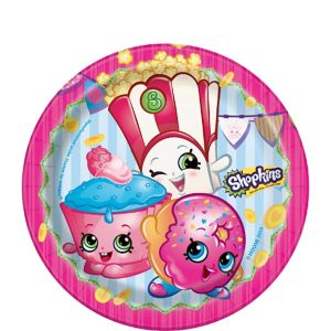 Shopkins Dessert Plates 8ct