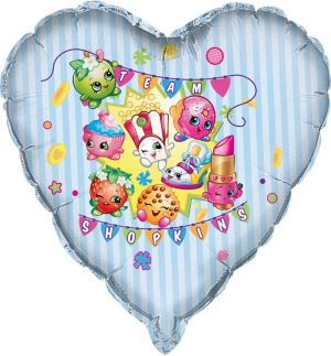 Shopkins Balloon - Giant Heart