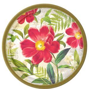 Botanical Peony Dinner Plates 8ct