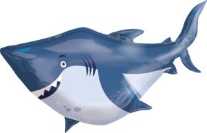 Under the Sea Shark Balloon - Giant