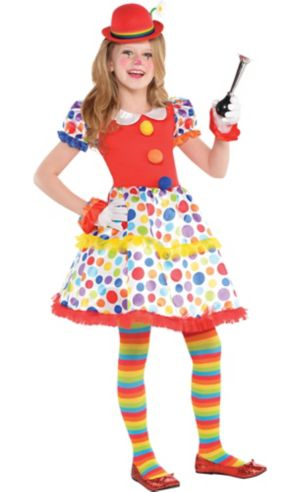 Girls Circus Clown Dress