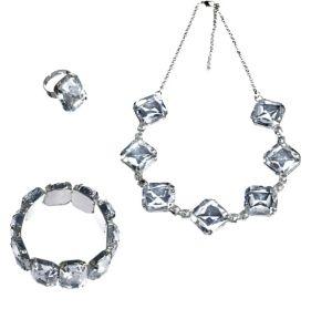 20s Gem Jewelry Set 3pc