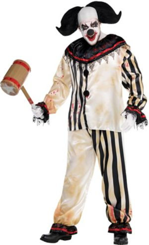 Bloody Clown Suit Plus Size - Freak Show
