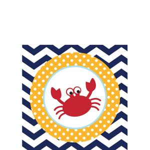 Ahoy Nautical Beverage Napkins 18ct
