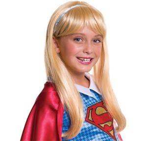 Child Supergirl Wig - DC Super Hero Girls