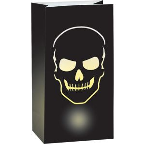 Skull Luminary Bags 6ct