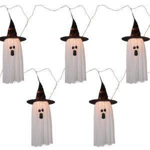 Fabric Ghost String Lights