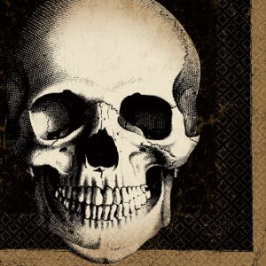 Boneyard Skull Lunch Napkins 125ct