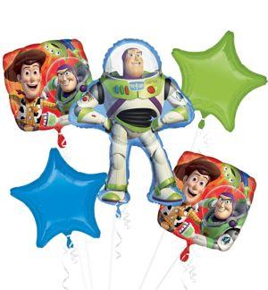 Buzz Lightyear Balloon Bouquet 5pc - Toy Story