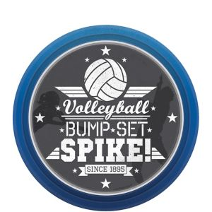Volleyball Dessert Plates 8ct