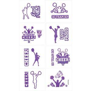 Cheer Tattoos 1 Sheet