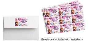 Custom Frozen Sticker