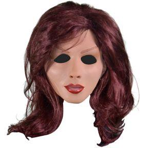 Redhead Woman Mask