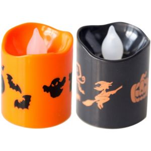 Halloween Votive Flameless LED Candles 4ct