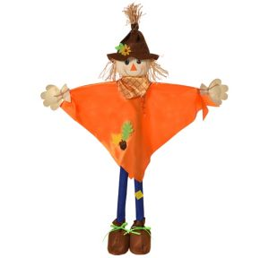 Giant Friendly Standing Scarecrow Decoration