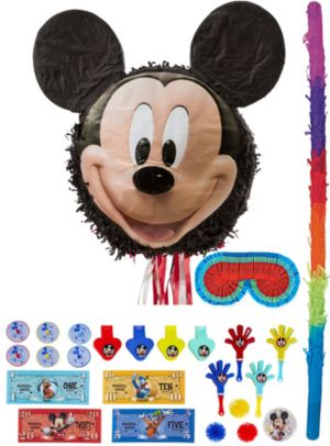 Smiling Mickey Mouse Pinata Kit with Favors