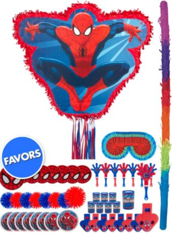 Amazing Spider-Man Pinata Kit with Favors