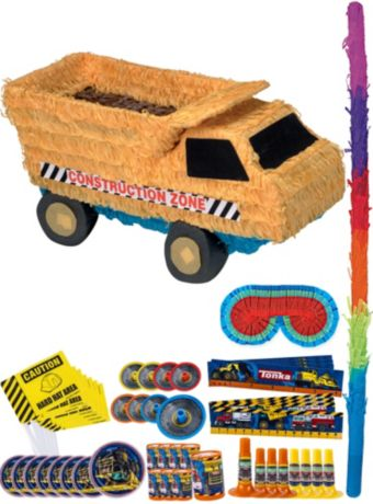Dump Truck Pinata Kit with Favors