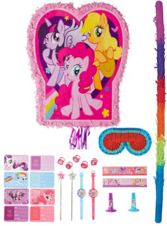 Pink My Little Pony Pinata Kit with Favors