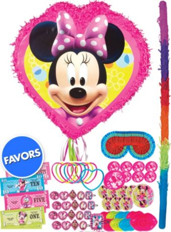 Minnie Mouse Pinata Kit with Favors