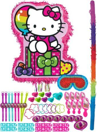 Rainbow Hello Kitty Pinata Kit with Favors