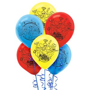 DC Super Hero Girls Balloons 6ct