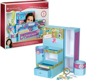 American Girl Create & Craft Desk Organizer Kit 207pc