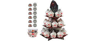 Star Wars Ep7 Cupcake Kit for 24