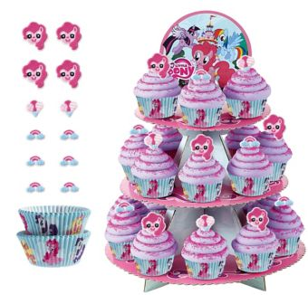 Deluxe My Little Pony Cupcake Kit for 24
