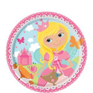 Woodland Fairy Dessert Plates 8ct