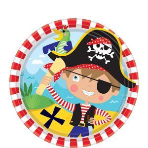 Little Pirate Dessert Plates 8ct