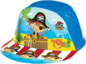 Little Pirate Plastic Hat