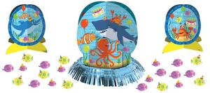Under the Sea Birthday Table Decorating Kit 23pc