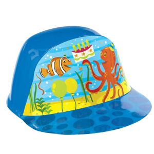 Under the Sea Birthday Plastic Hat