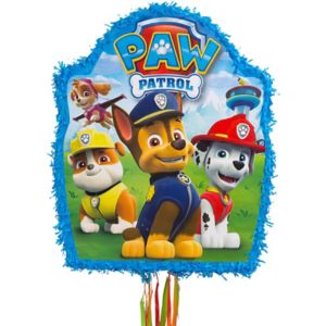 Pull String Paw Patrol Pinata 19in X 18 1 2in Party City