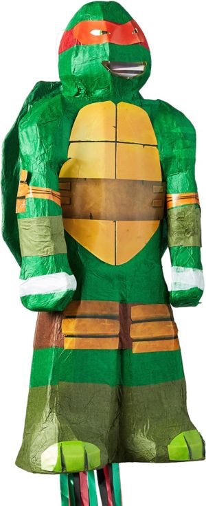 Pull String Raphael Pinata - Teenage Mutant Ninja Turtles
