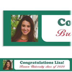 Custom Bright Grad Text Photo Banner