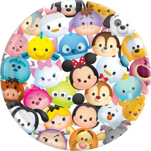 Tsum Tsum Lunch Plates 8ct