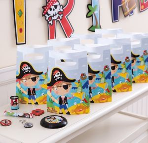 Little Pirate Basic Favor Kit for 8 Guests