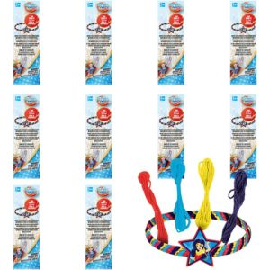 DC Super Hero Girls Friendship Bracelet Kits 48ct