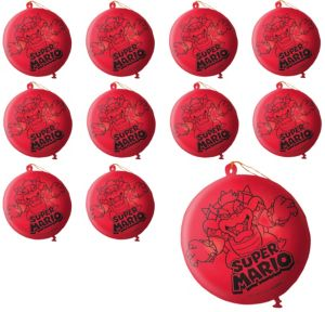 Super Mario Punch Balloons 24ct