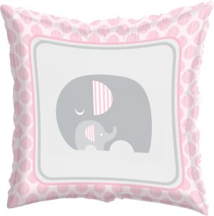 Pink Baby Elephant Balloon
