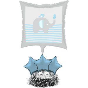 Blue Baby Elephant Balloon Centerpiece Kit