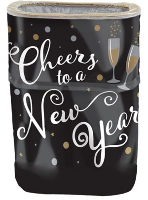 Cheers to a New Year Flings® Pop-Up Trash Bin
