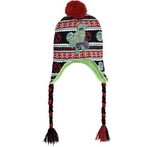 Hulk Christmas Peruvian Hat