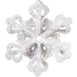 Glitter Foam Snowflake