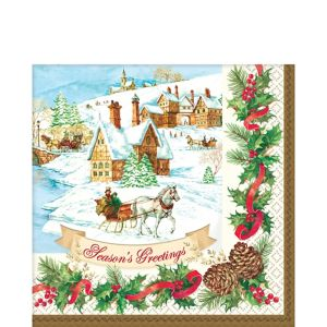 Holiday Magic Lunch Napkins 36ct